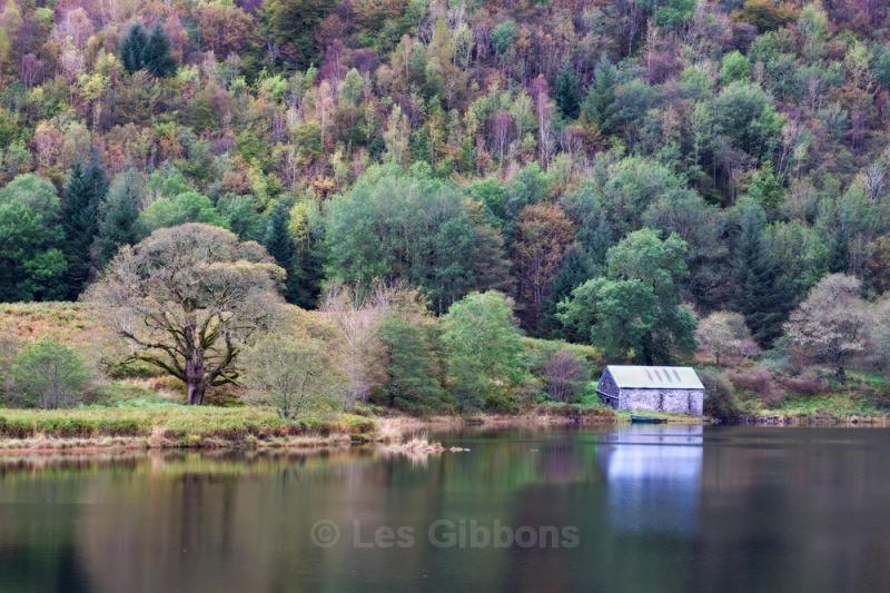 Dubh loch boathouse - Argyll