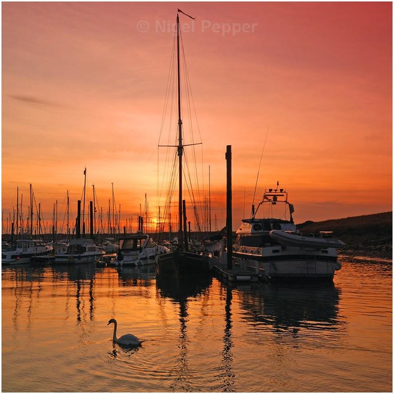 Marina Sunset - Titchmarsh Marina