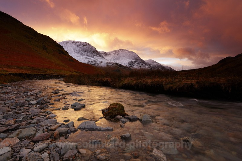 Gategarthdale Beck with High Stile in the distance      ref  7660 - Latest images