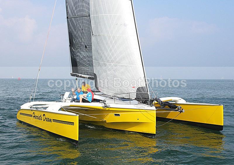 140907 HARRIETS DREAM WT7A5530 - Sailboats - multihull
