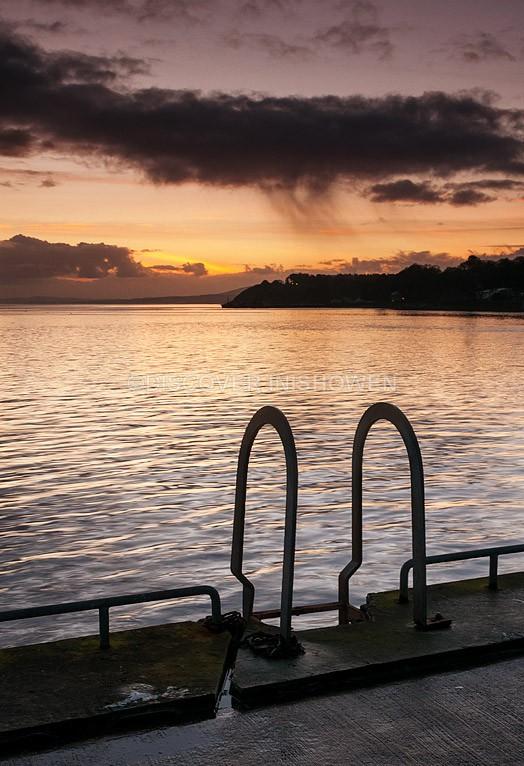 Last light(Moville Pier) - Inishowen II