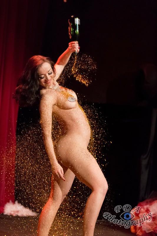 1 Bettsie Bon Bon on stage at The Picturedrome