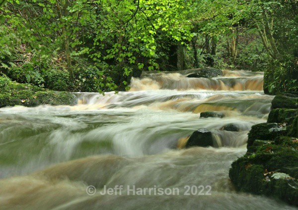 Rathmell Beck (image Rath B 05) - Waterscapes and Waterfalls
