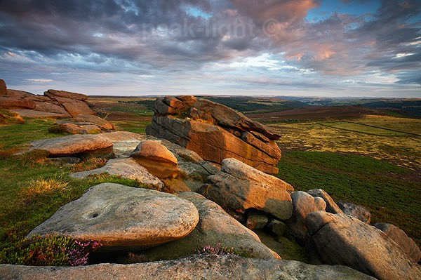 Evening on the Tor - Peak District