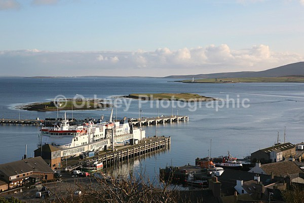 Stromness pier - Orkney Images