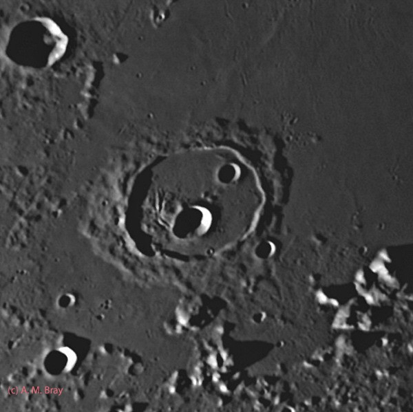 Cassini crater - Moon: North Region