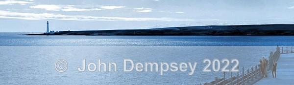 Blue Lighthouse View - Montrose Beach