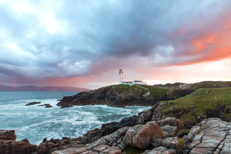 Storm Clouds at Fanad Lighthouse - Ireland by Day