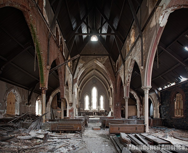 Undisclosed church | Abandoned America