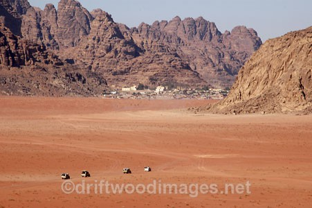 Wadi Rum, Jordan Going Home ! - Jordan, Middle East