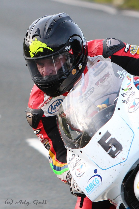 Bruce Anstey - Racing