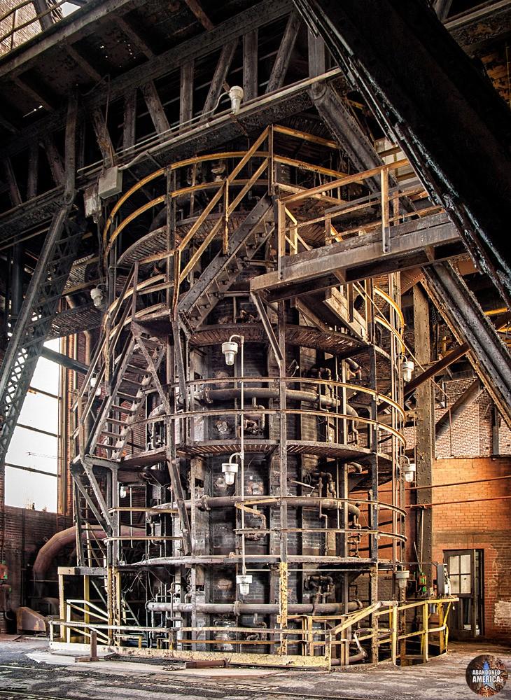 Bethlehem Steel (Bethlehem, PA)   Steampunk Cylinder - Bethlehem Steel