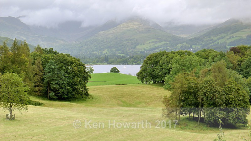 Windermere from Wray Castle - Lakeland Landscapes