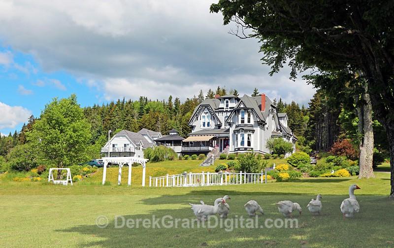 St. Martins Country Inn, St Martins New Brunswick Canada - New Brunswick Landscape
