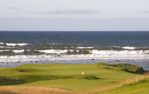 Kingsbarns 8th  15th Flags - Kingsbarns Golf Links images