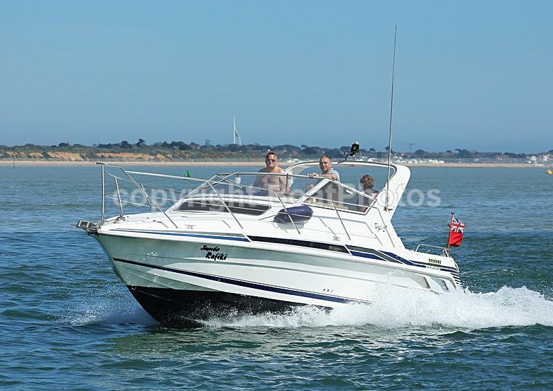 130506 JAMBO RAFIKI TARGA 27 WT7A1439 - Motorboats - Open