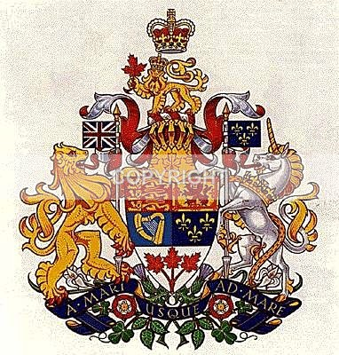 Canadian Coat of Arms -1941 - Heritage Family Name and Coat of Arms Store