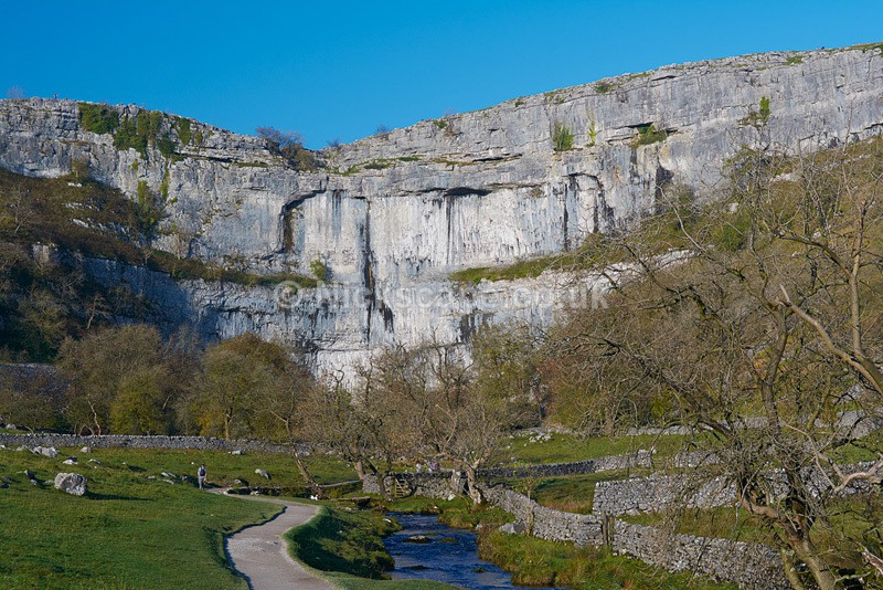 Malham Cove during Summer - Yorkshire Dales National Park - Yorkshire