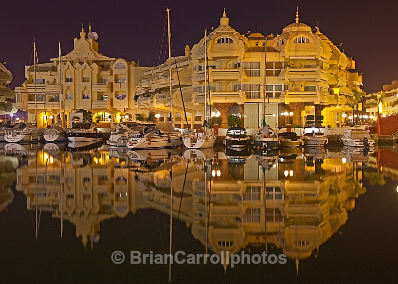Benalmadena Marina, near Malaga,Spain - Costa del Sol, Spain