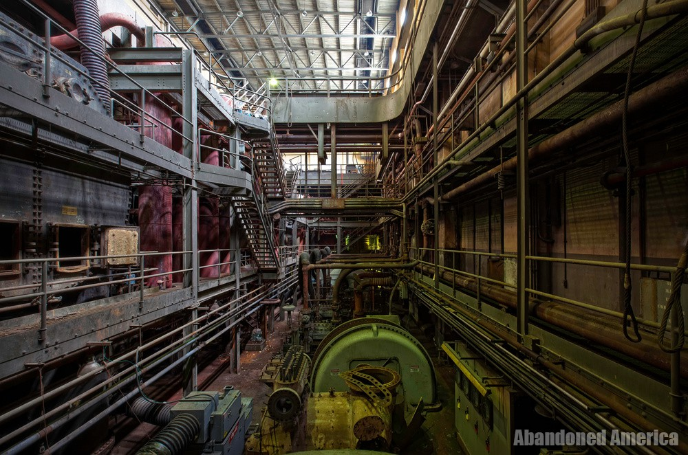 Frank R. Phillips Power Station (South Heights, PA) | Turbine Basement - Frank R. Phillips Power Station