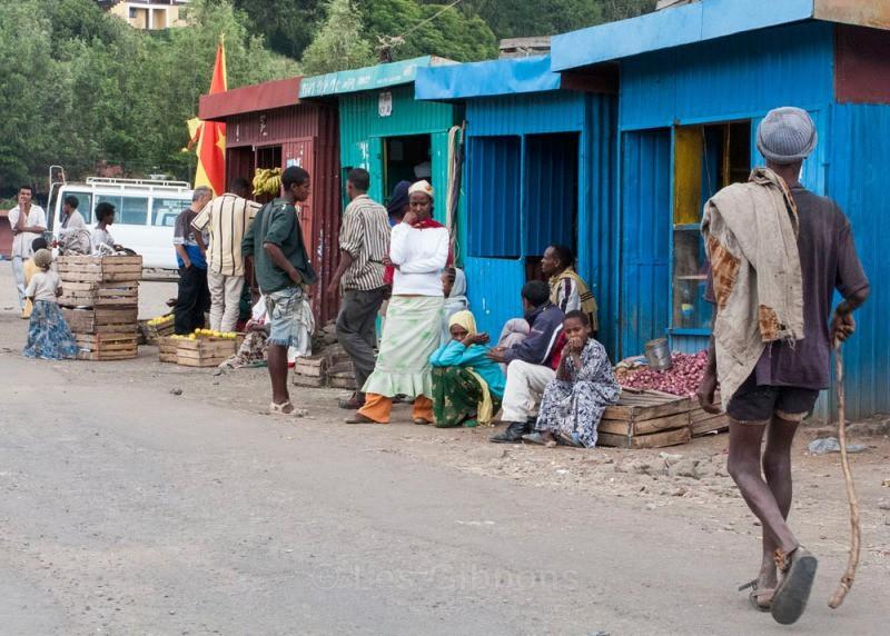 Lalibela town centre - Ethiopia