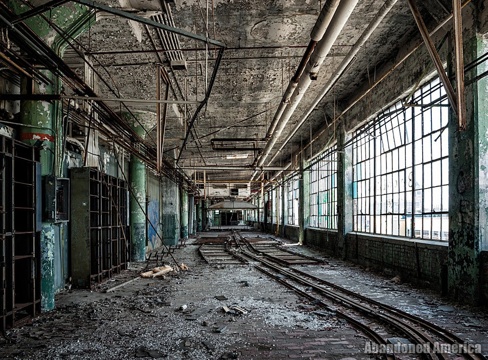 Fisher Body Plant 21 (Detroit, PA) | Remains of the Rails - Fisher Body Plant 21