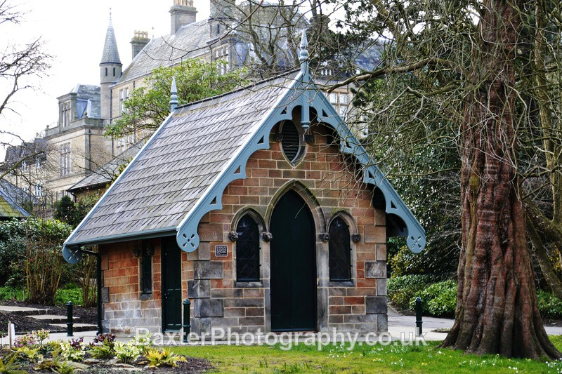 Gothic Magnesia Well Restored - The Valley Gardens (Harrogate)
