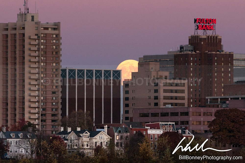 Supermoon - Harrisburg Area, Pennsylvania