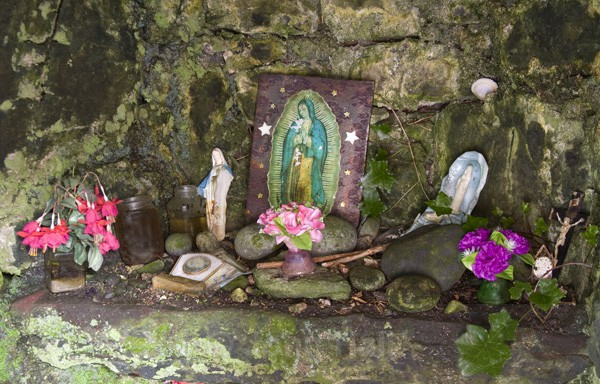 Interior Of Holy Well, The Burren, Co. Clare, Ireland.