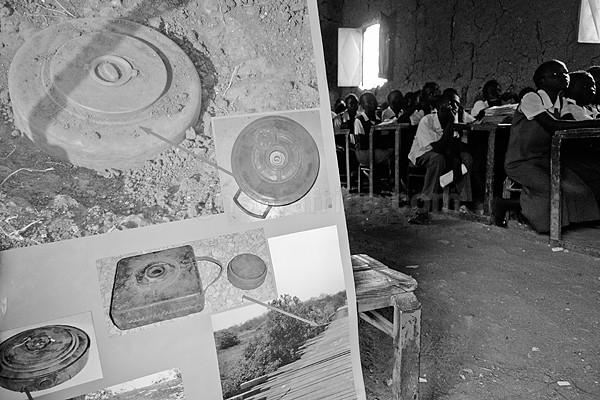 Landmine Awareness Malakal South Sudan