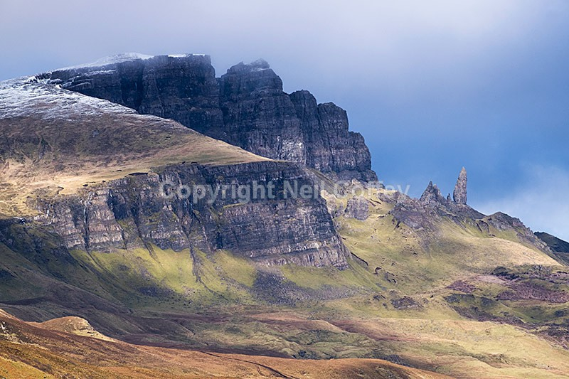 The Storr and The Old Man of Storr, Isle of Skye - Landscape format