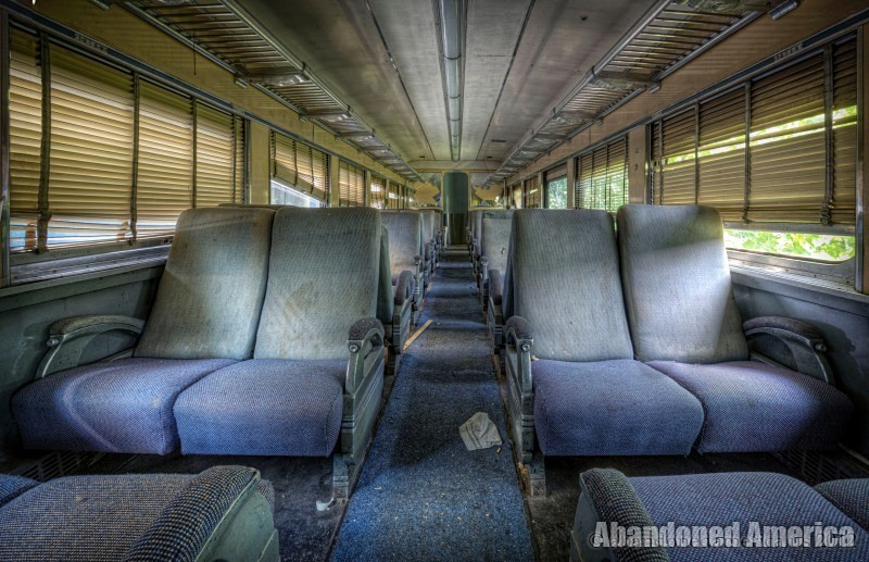 Abandoned train - Matthew Christopher's Abandoned America