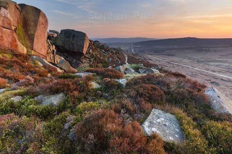 Peak District Sunset | Burbage Edge | Derbyshire