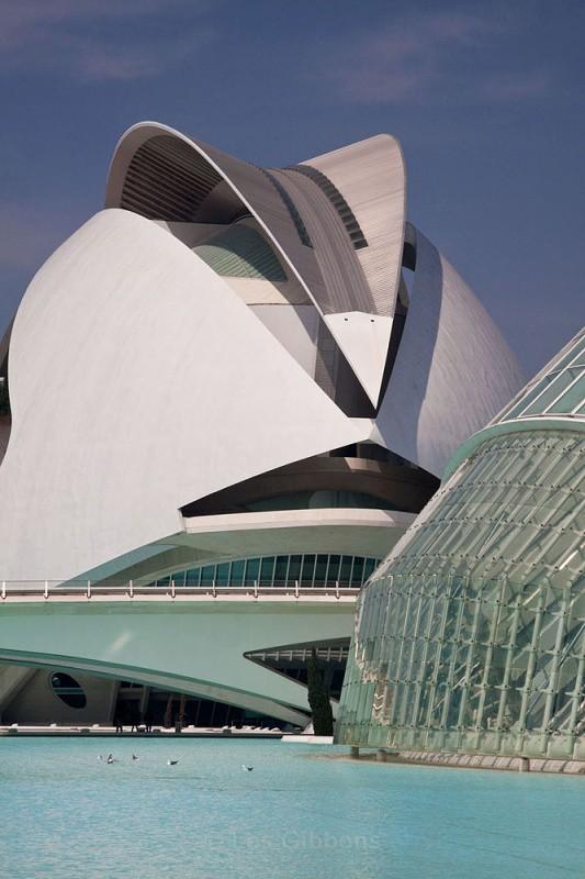 hemisphefic and opera house detail2 - Valencia