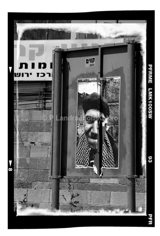 The Advert Jerusalem - Black & White