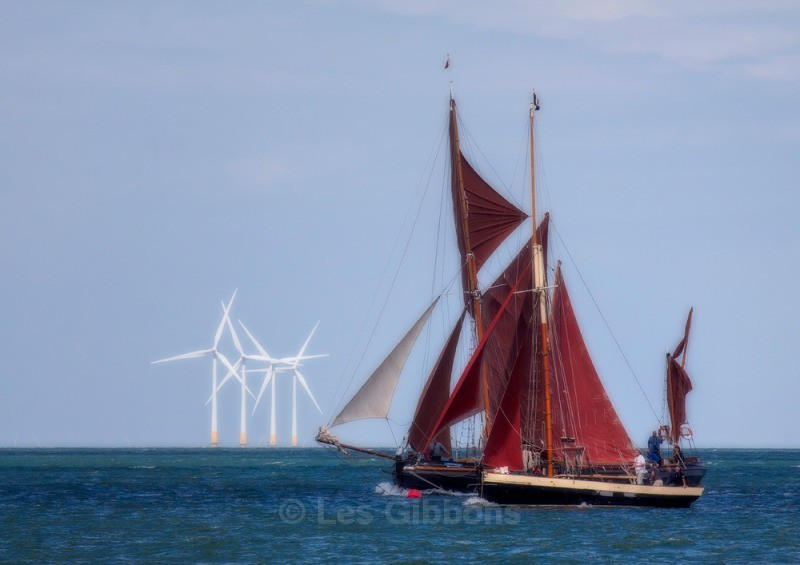 whitstable - Thames Barge4 - Kent