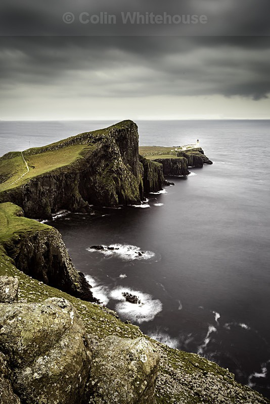 Neist Point Portrait - Scotland
