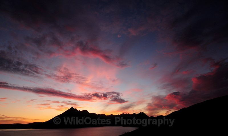 Sunset Cullins Skye NIKON D300 14mm f14 1-15 iso400_267 - Landscapes