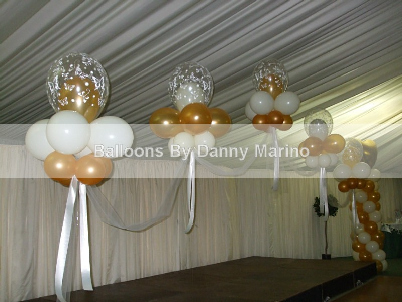5 Cloud Arch - Wedding Balloon Photos