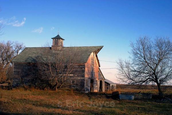 Old Barn & Blue Sky.... - Barns & Remnants