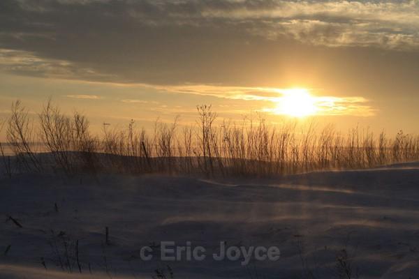 Snow Rays - SW Minnesota