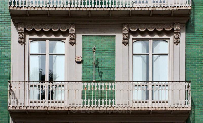 city centre green walls - Valencia