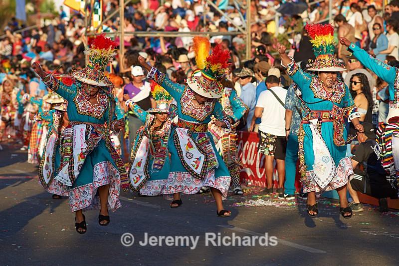Tinkus dance group - Carnaval Andino Con La Fuerza Del Sol - Arica