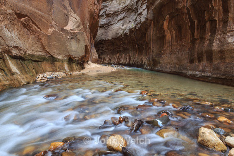 Deep in the Narrows - Utah