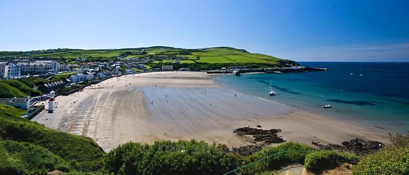 Summer on Port Erin beach - Sea of Man
