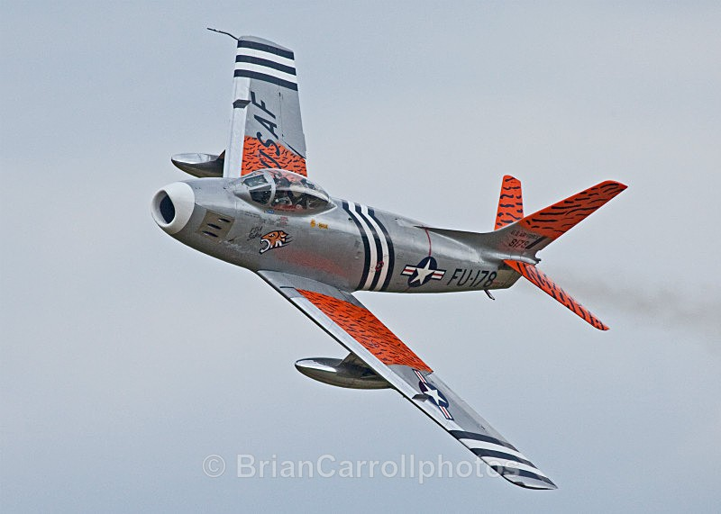 IMG_6958 USAF.North American F86 Sabre FU-187/8178 - Shuttleworth Air Show