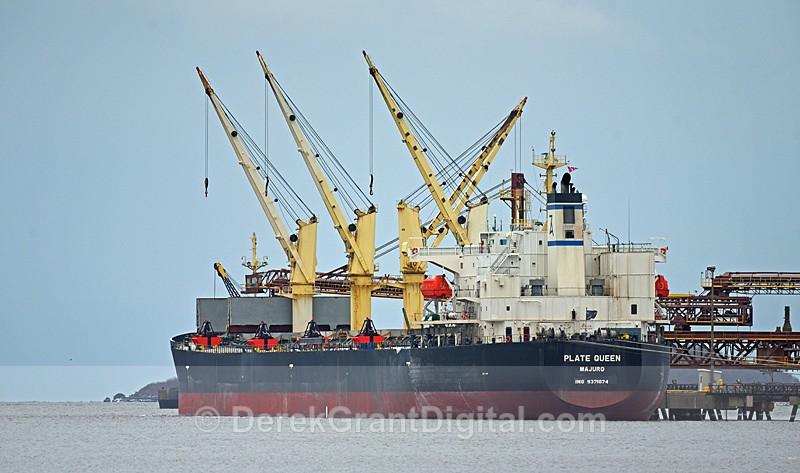 Plate Queen Bulk Carrier Potash Pier - Boats