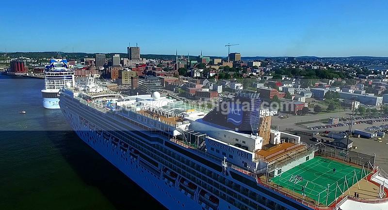 Cruises Ships Port of Saint John New Brunswick - Cruise Ships