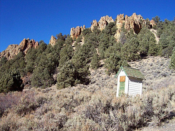 'Way Out - Out House' - Nevada (mostly) Landscapes