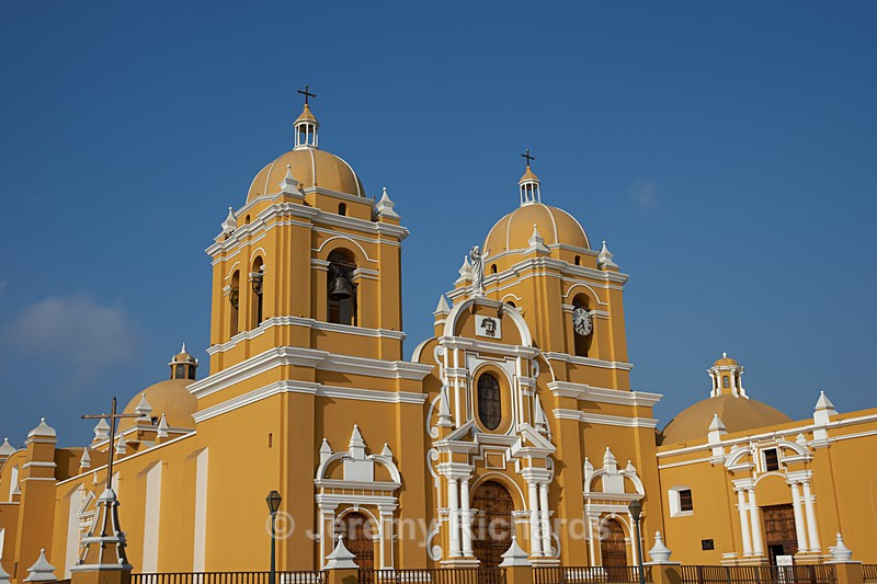 Colourful Trujillo Cathedral - Peru